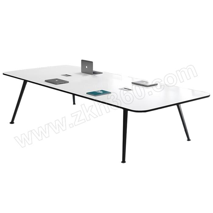 LANRAN/兰冉 会议桌长桌简约现代 LR-HY3006 尺寸2400×1200×750mm 1张
