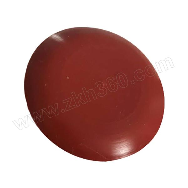 ZHUANGZHENG/庄正 保护帽 φ51 内深27mm 外高36mm 棕红色 硅胶材质 耐高温 1个