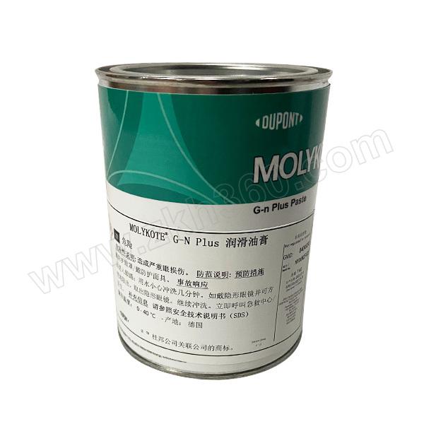MOLYKOTE/摩力克 重载型装配油膏 GNPLUS 黑色 1kg 1罐