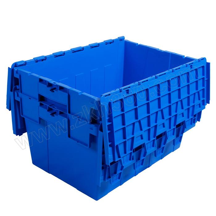 TRIPOD KING/鼎王 斜插周转箱 TK64315 外尺寸600×400×315mm 内尺寸510×330×295mm 蓝色 1个